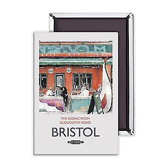 Bristol die legendären Prom-Stahl Kühlschrank-Magnet
