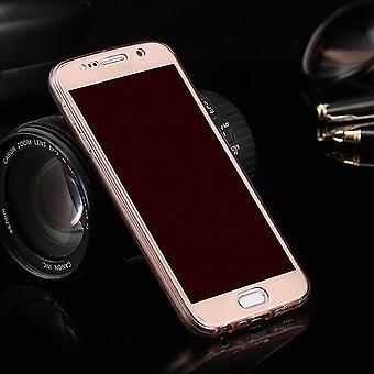 Crystal Case Hülle für Samsung Galaxy S3 / S3 Neo Pink Rahmen Full Body