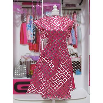 Barbie Fashions Cute Cut Out Dress Pink