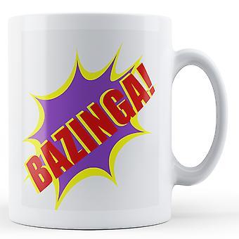 Bazinga! -Mug imprimé
