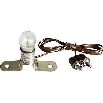 Kahlert Licht 60895 Lighting with metal bar Clear E10 3.5 V