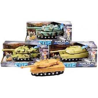 Militaire tank met licht en geluid