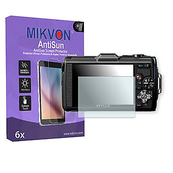 Olympus TG-2 Screen Protector - Mikvon AntiSun (Retail Package with accessories)