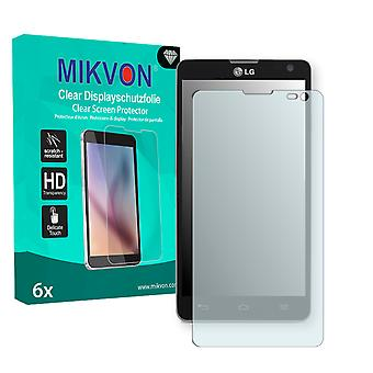 LG Optimus L9 II Screen Protector - Mikvon Clear (Retail Package with accessories)