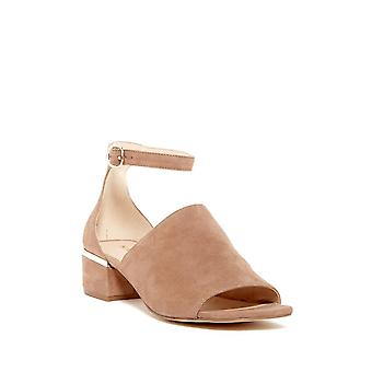 Nine West Womens Yorada Leather Open Toe Casual Ankle Strap Sandals