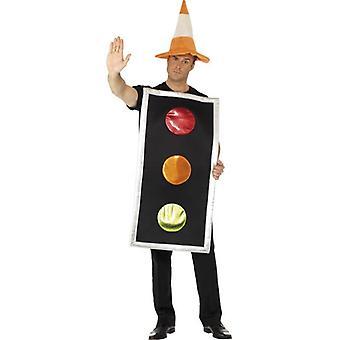 Traffic Light Kostüm.  One Size