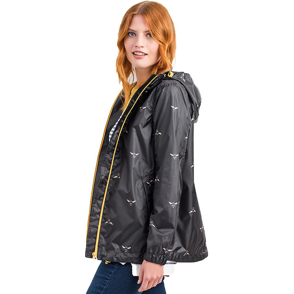 Joules femmes Golumièrely court imperméable Pack Away Coat