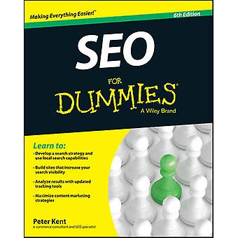 SEO For Dummies (6 Revised edition) przez Peter Kent - 9781119129554 B