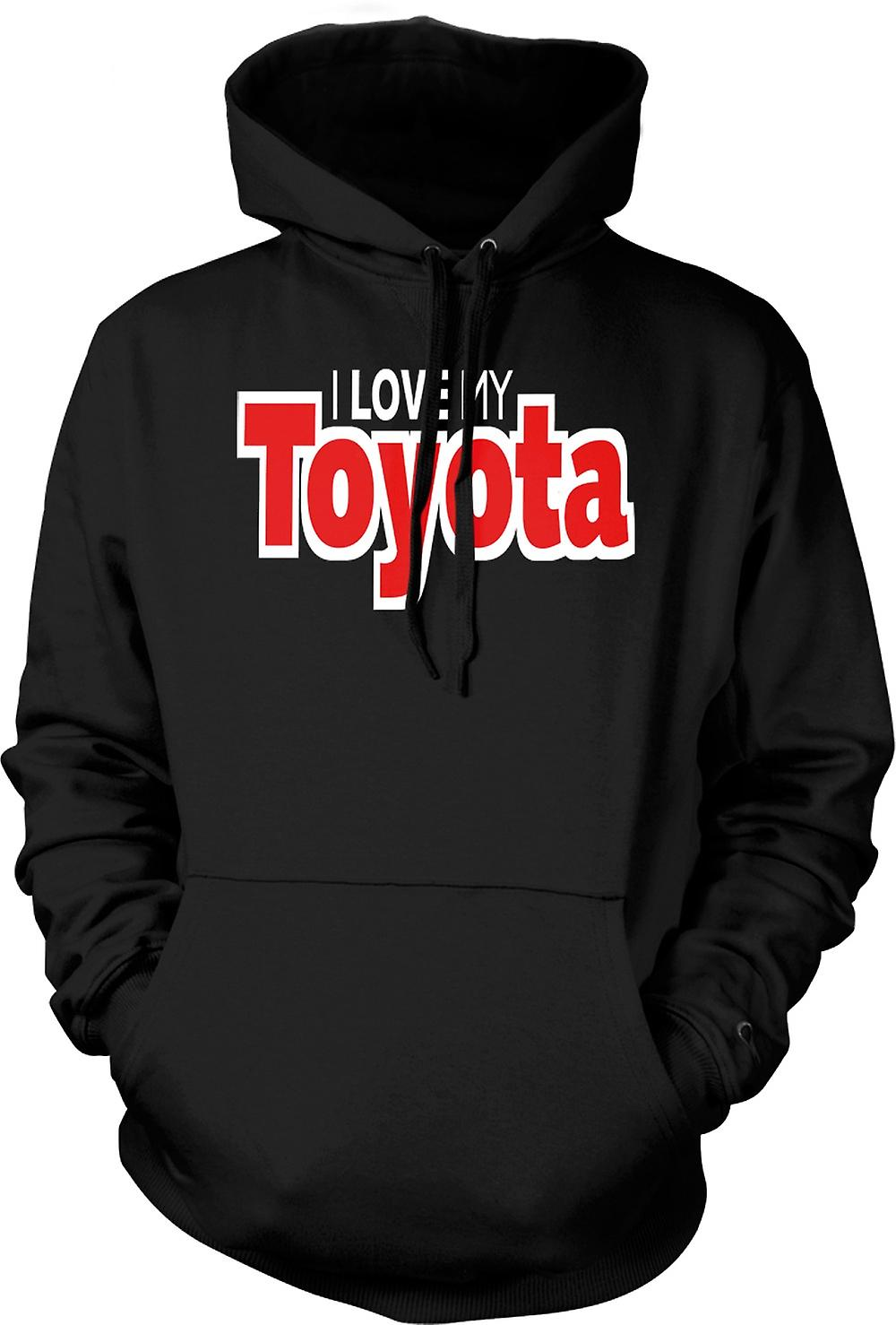 Kids Hoodie - I Love My Toyota - Car Enthusiast