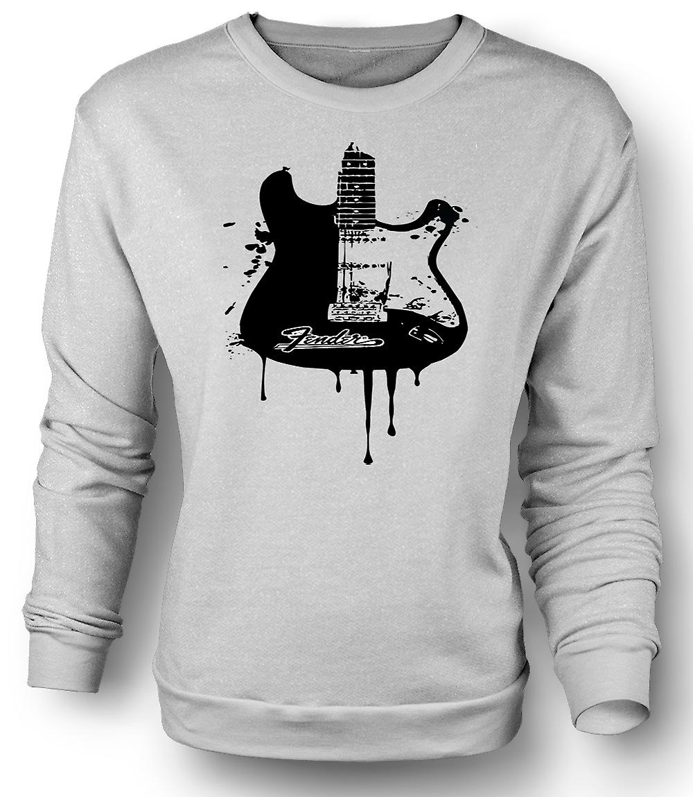Sudadera para hombre Fender Strat - guitarra Grunge