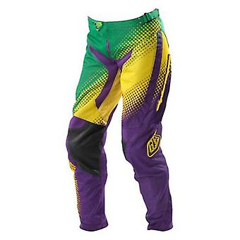 Troy Lee Designs Green-Purple GP Air Speedway Womens MX Pant