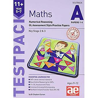 11+ Maths Year 5-7 Testpack A Papers 1-4