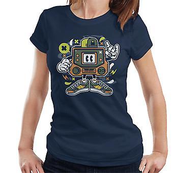 Retro Gamer arkade mand kvinders T-Shirt