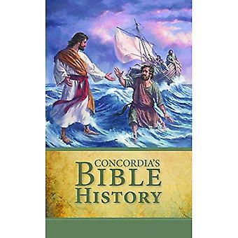 Histoire de la Bible de l'Université Concordia dans les paroles de la Sainte écriture