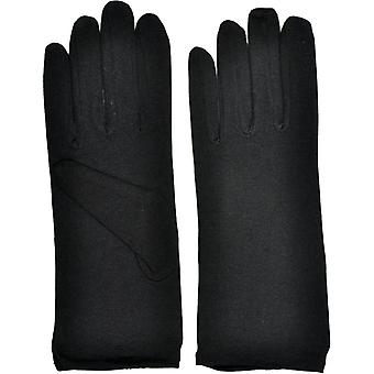 Gloves Ladies Nylon Blk 1 Size