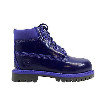 Timberland 6 Inch Premium Waterproof Purple Shine TB03381A Toddler