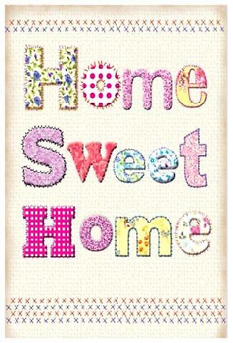Home Sweet Home Steel Sign (og 2015)