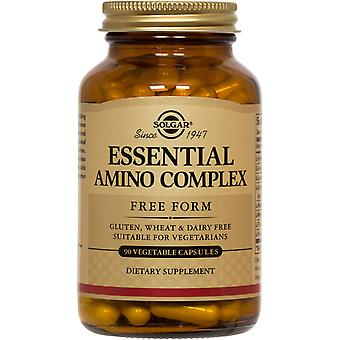 Solgar Essential Amino Complex Vegetable Capsules 90ct