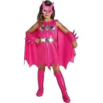 Girls Pink Batgirl Child Costume