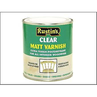 Rustins Polyurethane Varnish Matt Clear 5 Litre