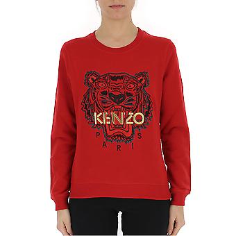 Kenzo Red Cotton Sweatshirt