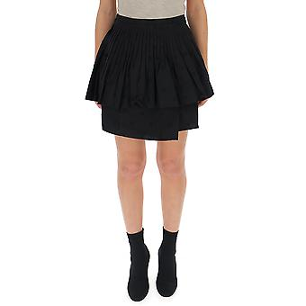 Ulla Johnson Black Cotton Skirt