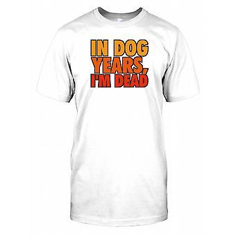 In de hond jaar ben ik dood - grappig citaat Kids T Shirt