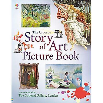 Verhaal van het prentenboek van kunst door Sarah Courtauld - 9781474938174 boek