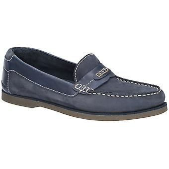 Hush Puppies Mens Finn Slip On Flat Casual Loafer Deck Shoes