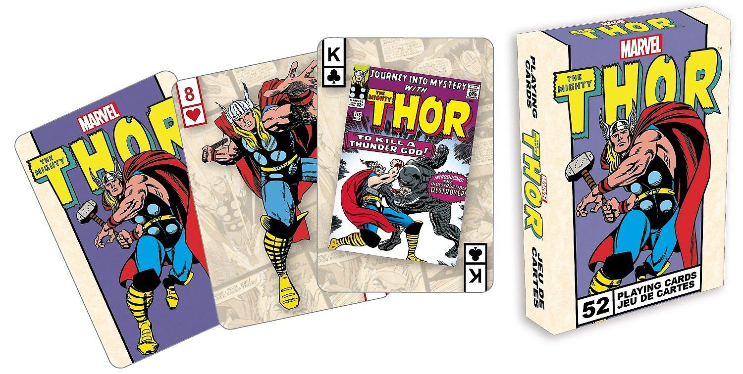 Thor Marvel Comics set of playing cards -na-
