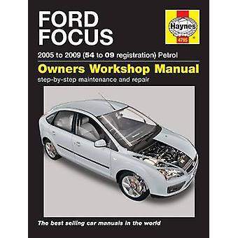 Ford Focus Petrol 05-11 - 9780857338709 Book