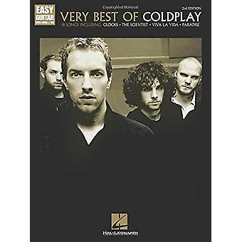 Very Best of Coldplay 2nd Edition Eesy Guitar - 9781495090110 Book