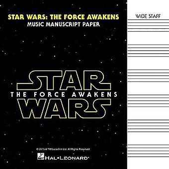 Star Wars - The Force Awakens Manuscript Paper by Hal Leonard Publishi
