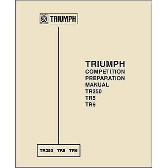 Triumph Competition Preparation Manual TR250 TR5 TR6 by R.W. Kaston -