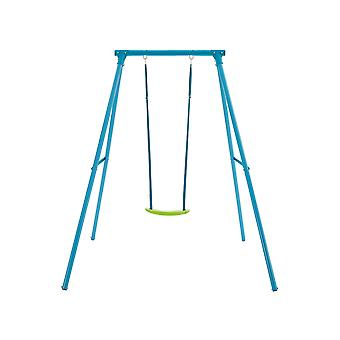 TP Toys Single Metal Swing Set Blue With Lime Green Seat 3 - 12 years
