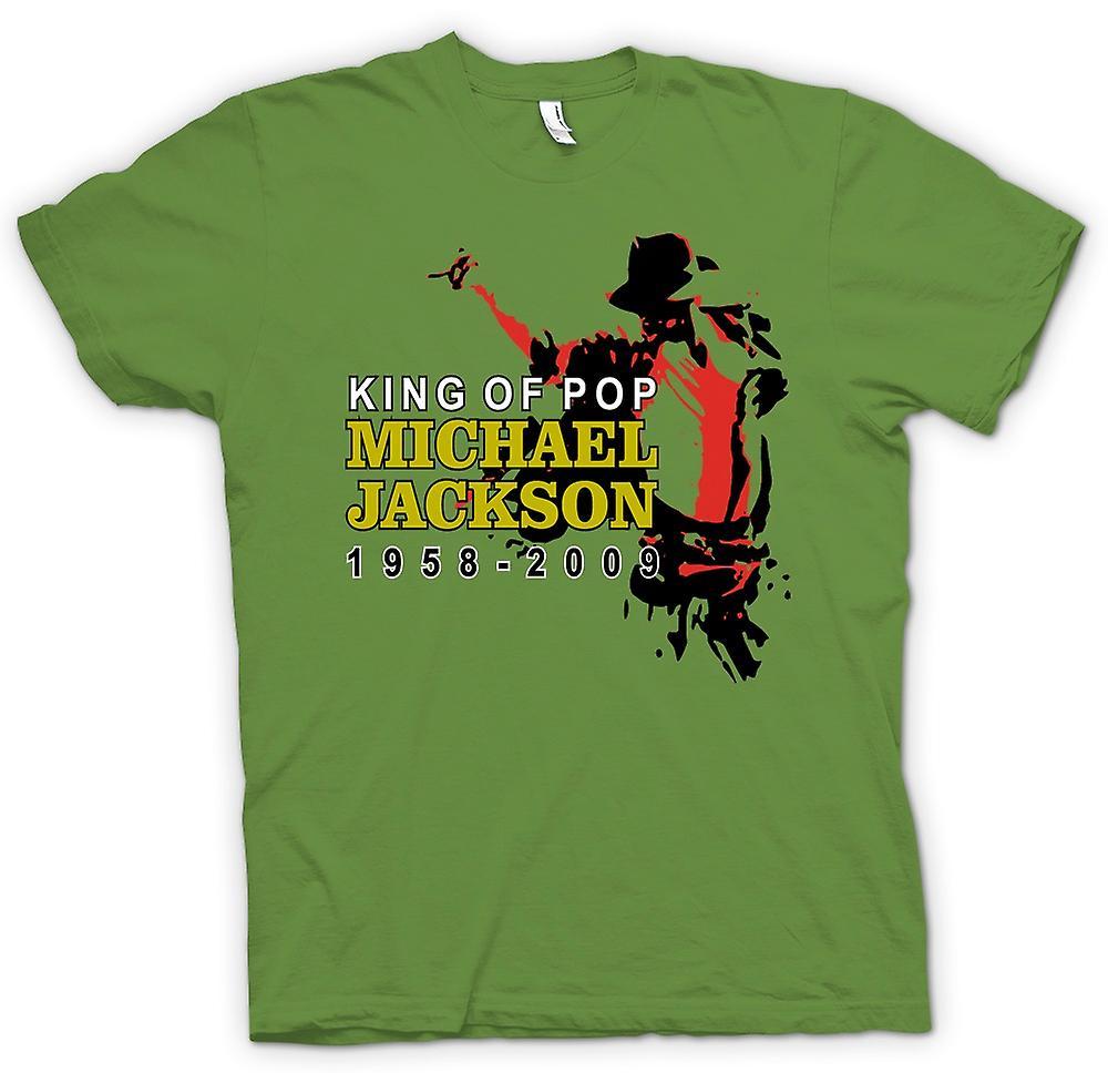 Camiseta para hombre - Michael Jackson rey del Pop - nuevo