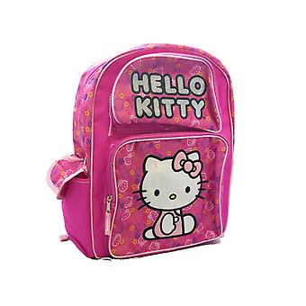 Small Backpack - Hello Kitty - Kitty Face Pink Girls New School Bag 828117