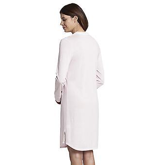 Rosch 1193719-14706 Women's Pure Pink Minimal Print Cotton Nightdress