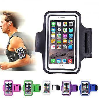 Lederen sport armband iPhone 5/5s/SE