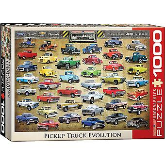 Pick Up Evolution 1000 piece jigsaw puzzle 680 mm x 490 mm (pz)