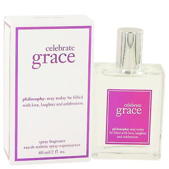 Celebrate Grace by Philosophy Eau De Toilette Spray 2 oz / 60 ml (Women)