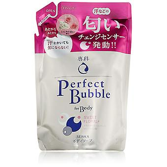 Shiseido Senka perfecte Bubble Sweet Floral Body Wash navulling 350ml