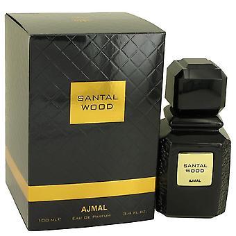 Santal Wood Eau De Parfum Spray (Unisex) By Ajmal 100 ml