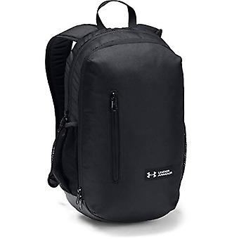 Under Armour UA Roland Backpack - Zaino Unisex Adulto - Nero Black/Silver - Taglia Unica