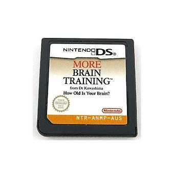 Nintendo DS More Brain Training Game - Factory Sealed
