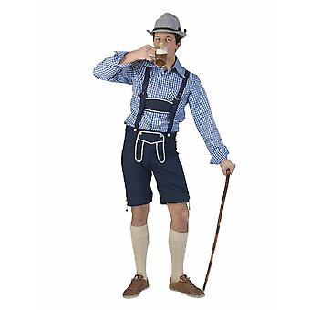 Costume Bayernpants Hias Men's Costume Men's Costume Oktoberfest Wiesn Trachten Man for Carnival Carnival Party Pierros