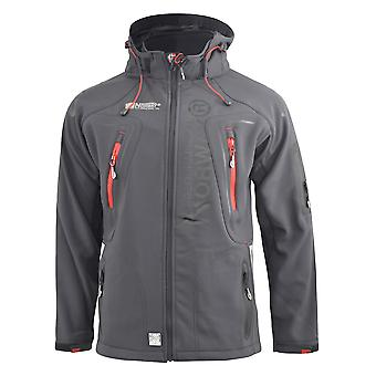 Mens softshell jacket geographical norway techno