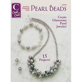 Cousin Corporation Books Jewelry Projects with Pearl Beads C 22986