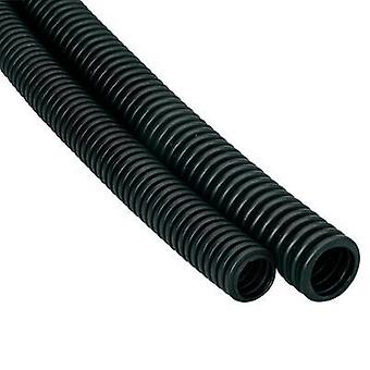 Conducto flexible EN25 Heidemann 13477 negro 1 PC de 25 m