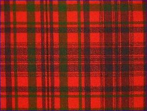 MacLeod Rouge, Moderne - Tartan Pure Laine